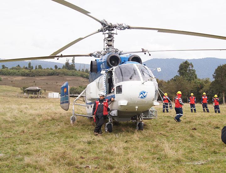 Montaje Electrico Helicoptero