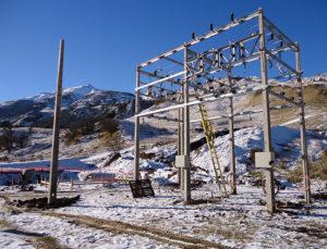 Estaciones Electricas Isla Chiloe Chile