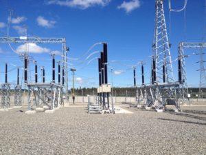 Construcción de Subestaciones Electricas Chile